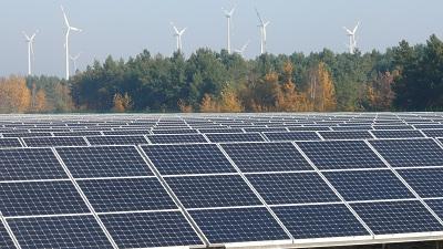 """Der Solarpark """"Spreewitz Süd"""" ist ein Teil aus dem 20 MW Portfolio der BKO nature power GmbH"""