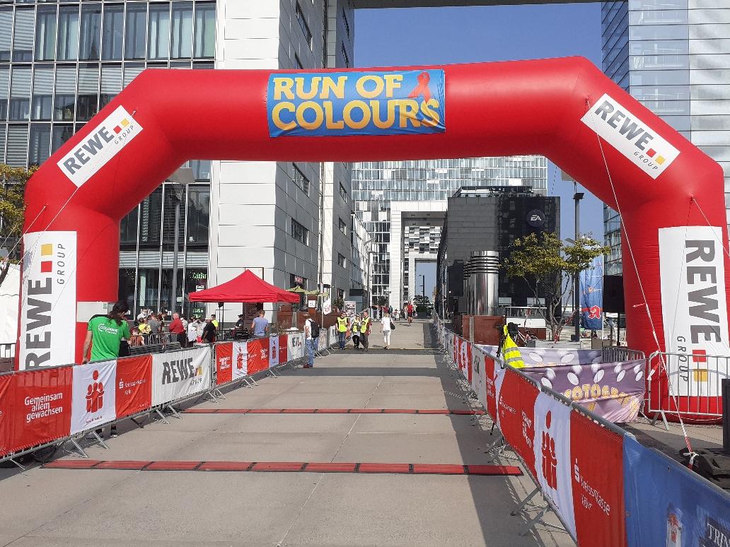 rosa-photovoltaik.de hat am 'Run of Colours' teilgenommen